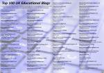 UKEdMag: Top 100 UK Educational Blogs