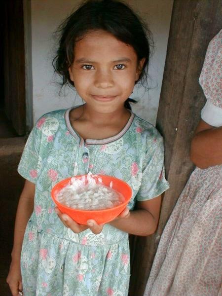 Country: Honduras Contents: Rice porridge