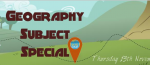 Session 228: Geography Subject Special