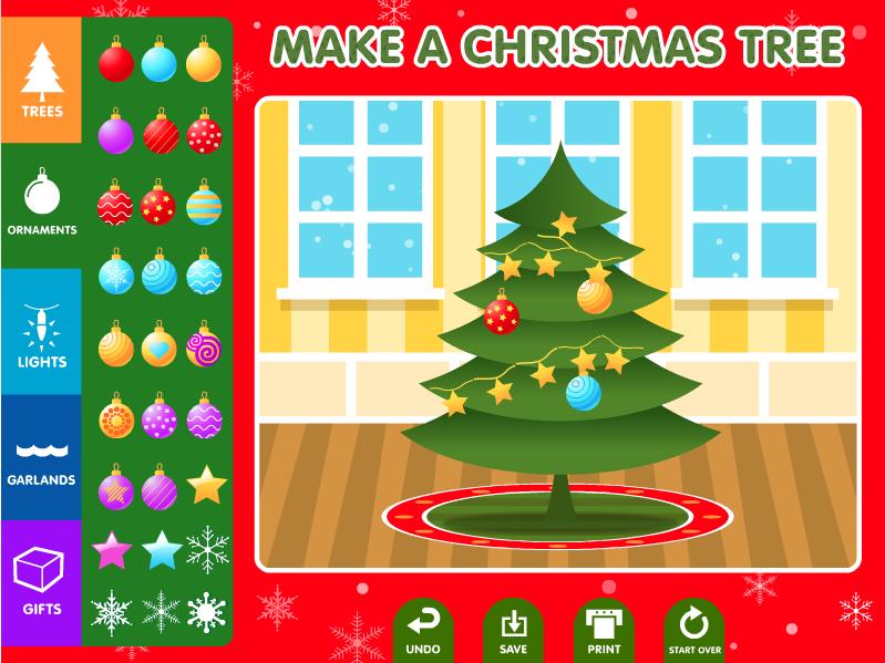 ABCya Christmas Tree