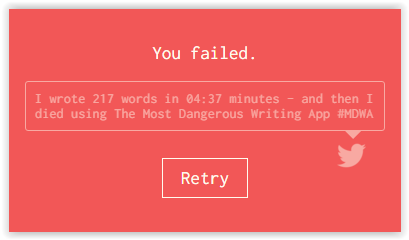 Failed-write