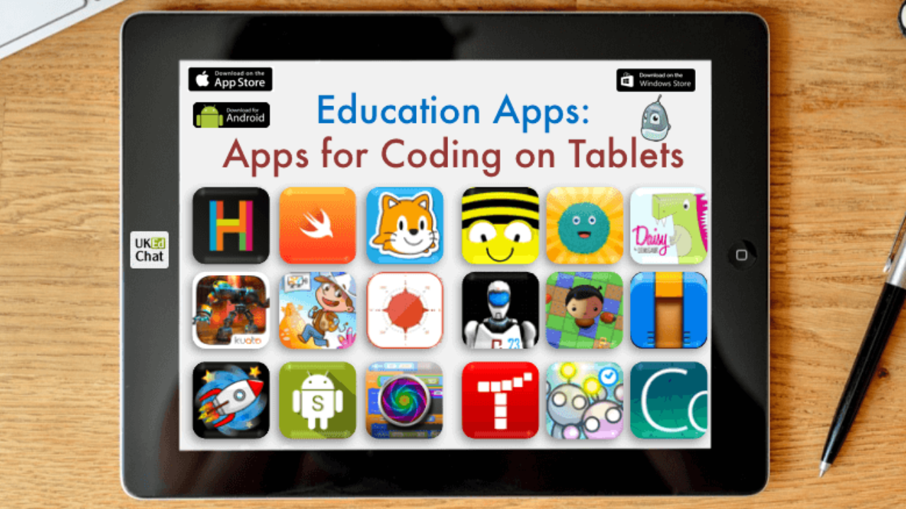 Education Apps: Apps for Coding on Tablets – UKEdChat