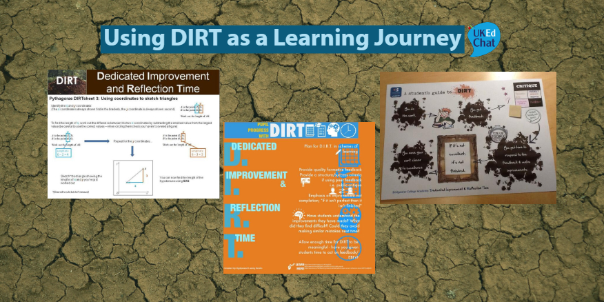 Using DIRT as a Learning Journey – UKEdChat