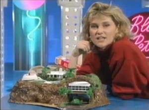 Blue Peter Tracy Island model created in the 1990's.