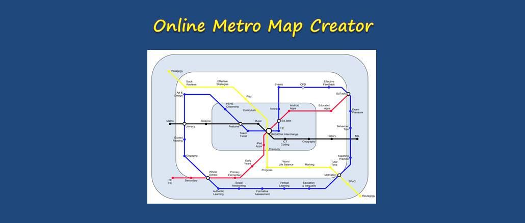 Resource: Online Metro Map Creator – UKEdChat