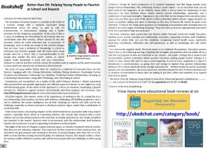 Review - Bookshelf: Better than OK: Helping Young People to Flourish at School and Beyond.