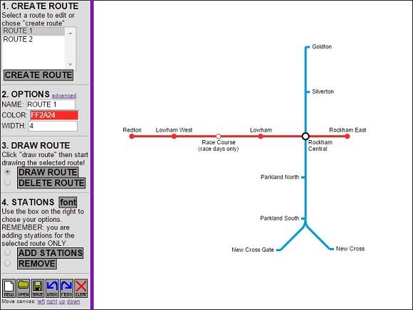 Metro Map Creator – UKEdChat