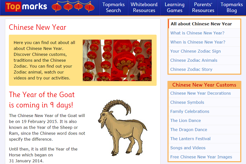 Top Marks - Chinese New Year