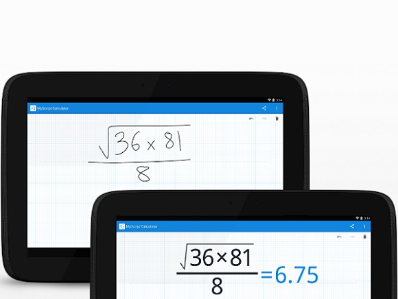 MyScript Calculator – UKEdChat