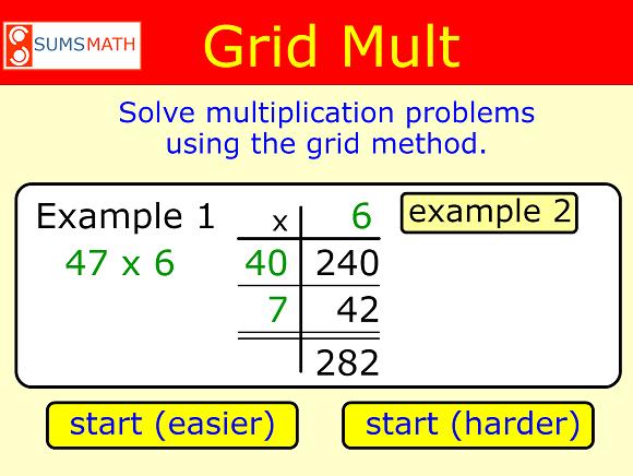 Grid Multiplication – UKEdChat
