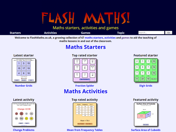 Flash Maths – UKEdChat