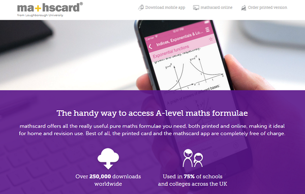 MathsCard