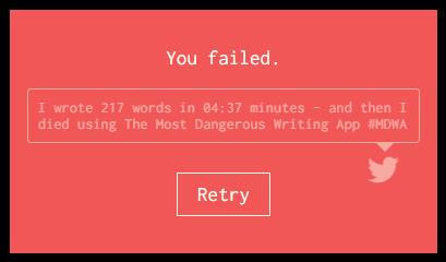 Failed-write
