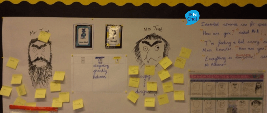 Working Walls and displays (2) by @primaryreflect – UKEdChat