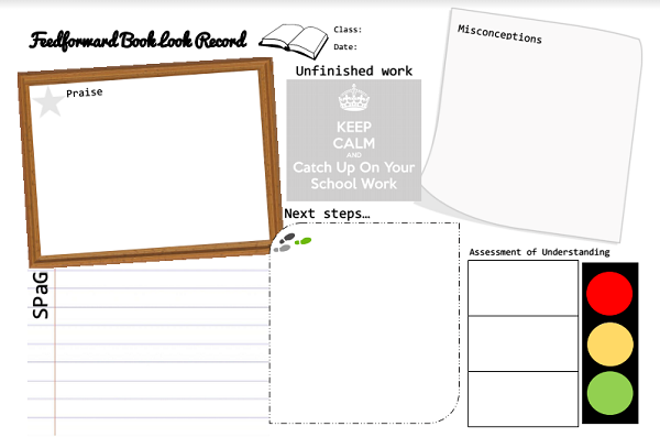 Feedforward Book Look Record by @MrsHumanities – @UKEdResources – UKEdChat