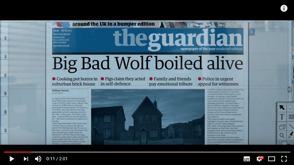 Video: The 3 little pigs and the big bad wolf story – @UKEdVideo – UKEdChat