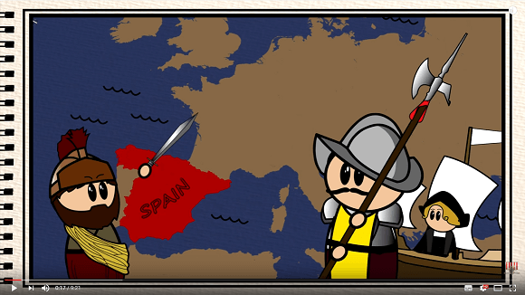Video: The Animated History of Spain – @UKEdVideo – UKEdChat