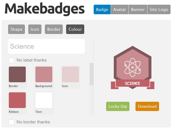 MakeBadges – UKEdChat