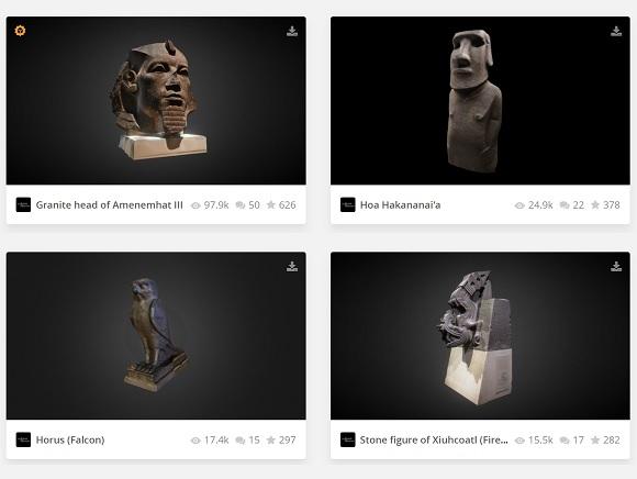 Sketchfab British Museum – UKEdChat