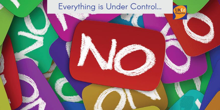UKEdMag: Everything is Under Control… by @NicMasters2 – UKEdChat