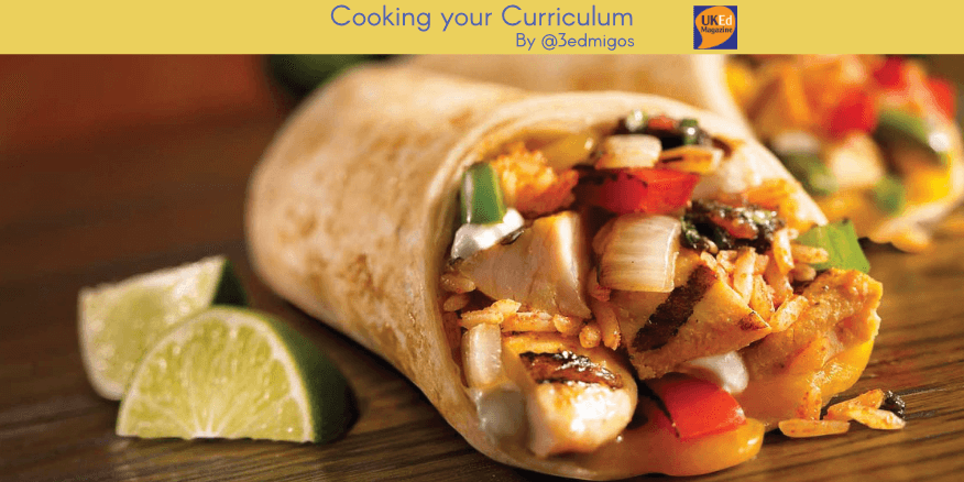 UKEdMag: Cooking your Curriculum by @3edmigos – UKEdChat