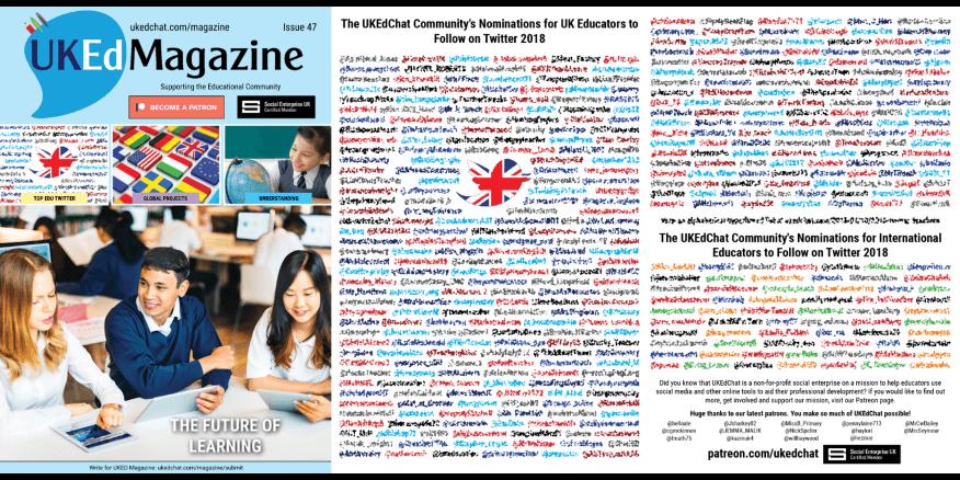 UKEdChat Magazine – Issue 47 – Page 6 – UKEdChat
