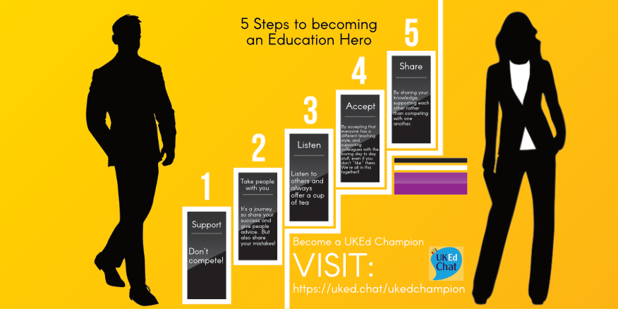 5 steps to becoming an education hero – UKEdChat