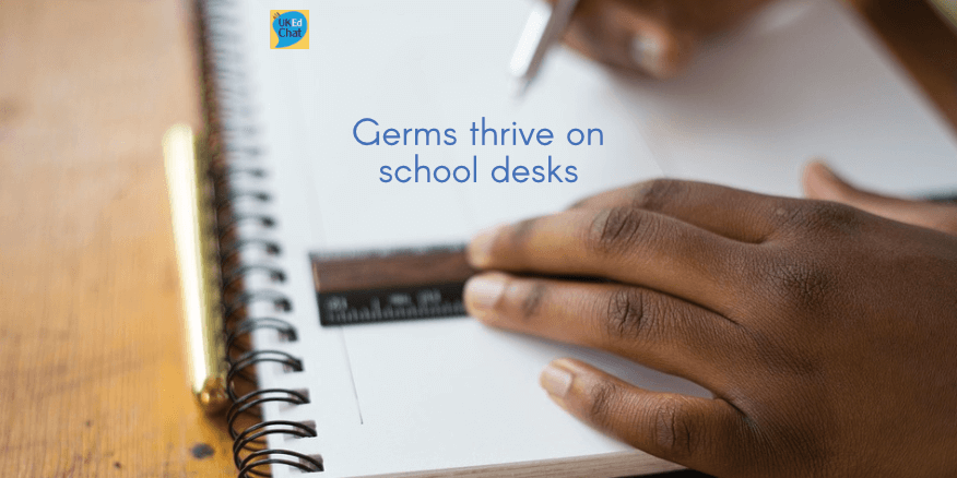 How germs thrive on school desks – UKEdChat