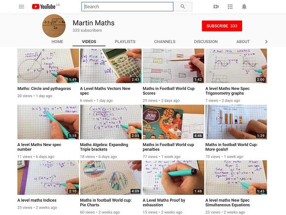 Martin Maths – UKEdChat