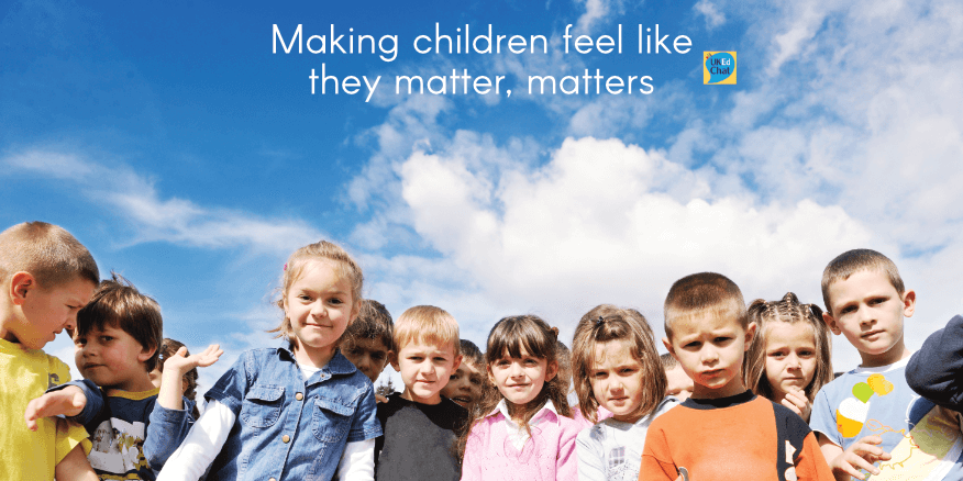 Making children feel like they matter, matters – UKEdChat