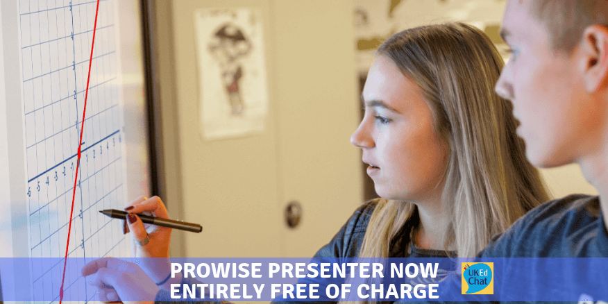 Prowise Presenter entirely free of charge – UKEdChat