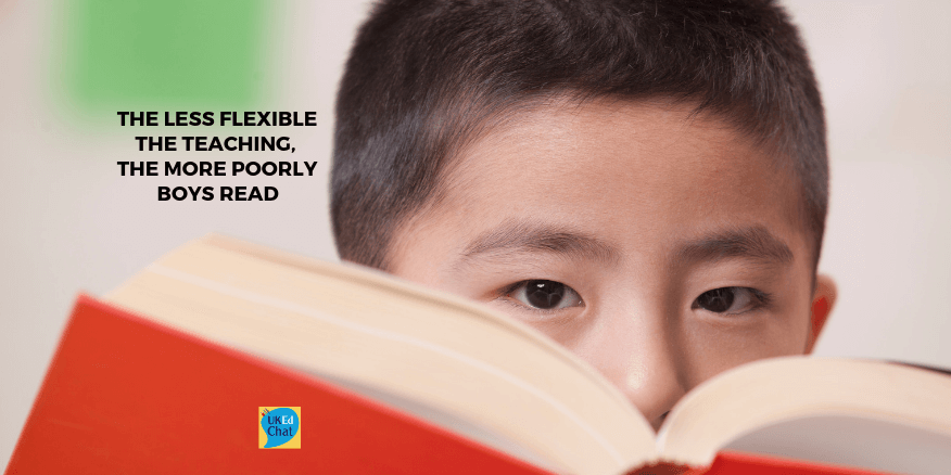 The less flexible the teaching, the more poorly boys read – UKEdChat