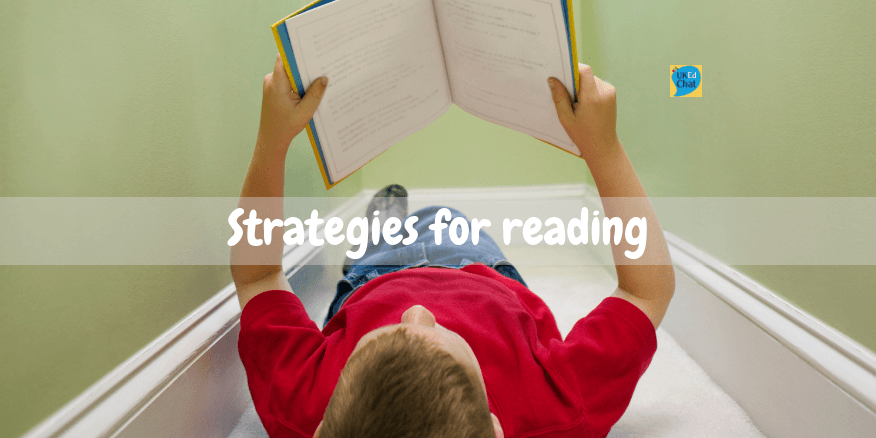 Strategies for reading – UKEdChat